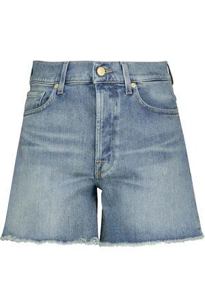 7 for all Mankind Naiset Farkkushortsit - Billie high-rise denim shorts