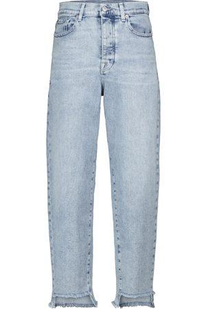 7 for all Mankind Naiset Korkeavyötäröiset - Dylan high-rise tapered jeans