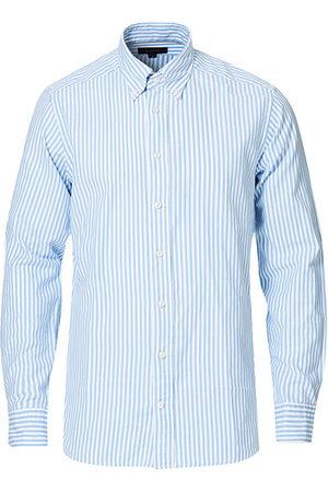 Eton Miehet Bisnes - Slim Fit Royal Oxford Stripe Button Down Light Blue