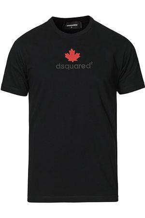 Dsquared2 Miehet T-paidat - Mini D2 Leaf Tee Black