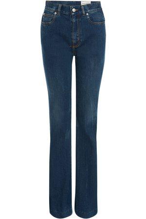 Alexander McQueen Naiset Stretch - Stretch Cotton Denim Jeans
