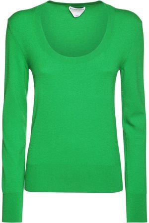 Bottega Veneta Cashmere Blend Knit Crewneck Sweater