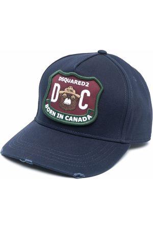 Dsquared2 Miehet Hatut - Logo-patch baseball cap