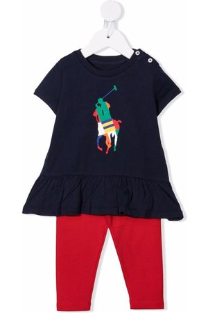 Ralph Lauren Setit - Colour-block logo tracksuit set