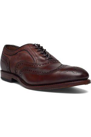 Allen Edmonds Mcallister Shoes Business Laced Shoes Ruskea