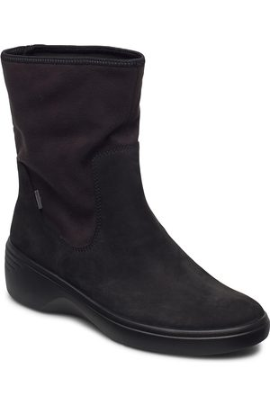 Ecco Soft 7 Wedge W Shoes Boots Ankle Boots Ankle Boot - Flat
