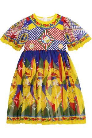 Dolce & Gabbana Exclusive to Mytheresa – Printed silk dress