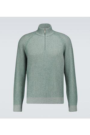 Brunello Cucinelli Half-zipped cashmere sweater