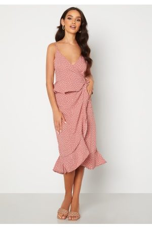 BUBBLEROOM Analisa dress Pink / White / Dotted 42