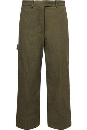 Thom Browne Cotton Canvas Cargo Pants