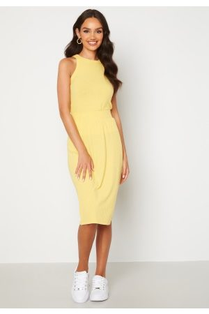 Happy Holly Charlie rib a-line skirt Yellow 32/34