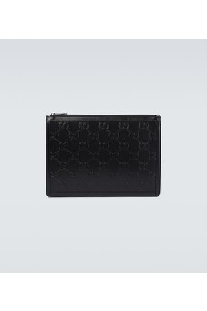 Gucci Ouverture GG embossed pouch