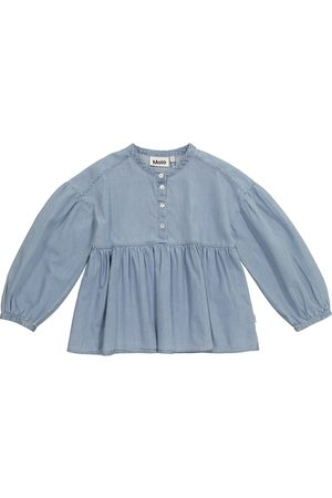Molo Raluca denim blouse