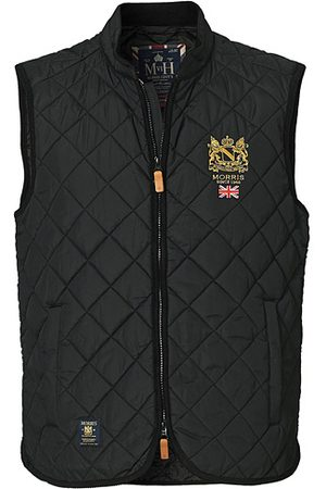 Morris Miehet Liivit - Trenton Quilted Vest Black