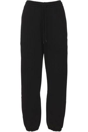 WARDROBE.NYC Naiset Collegehousut - Unbrushed Cotton Fleece Sweatpants