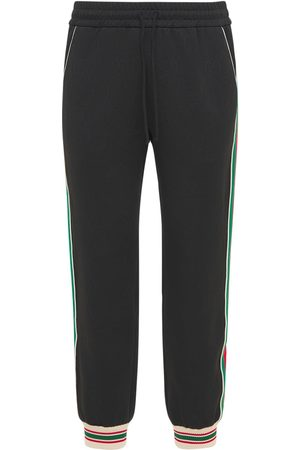 Gucci Miehet Collegehousut - Gg Jersey Jacquard Jogging Pants