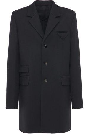 Bottega Veneta Miehet Villakangastakit - Compact Wool Twill Cavalry Coat
