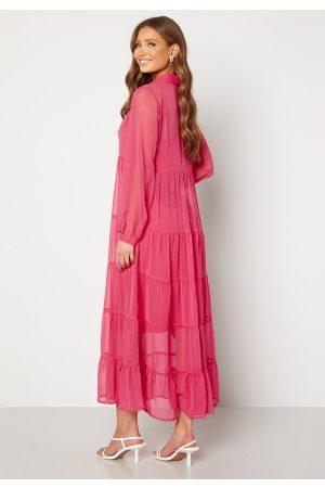 Happy Holly Elsie Maxi Dress Cerise 40/42