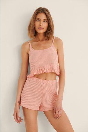 Trendyol Naiset Pyjamat - Pyjamasetti - Orange