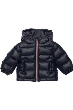 Moncler Pojat Untuvatakit - New Aubert Hooded Nylon Down Jacket