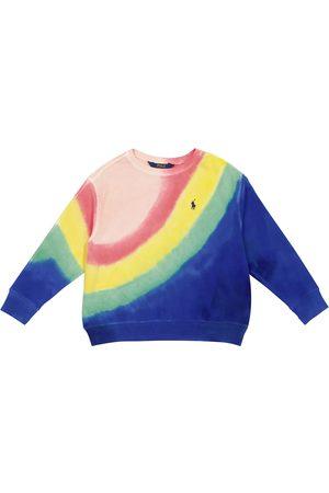 Ralph Lauren Tie-dye cotton jersey sweatshirt