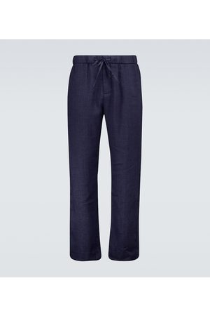 Frescobol Carioca Miehet Chinot - Stretch-cotton chino pants
