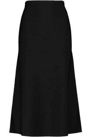 GALVAN Cora knit midi skirt