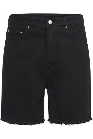 FLANEUR HOMME Cotton Denim Shorts