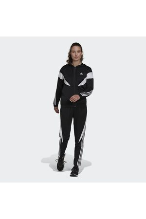 adidas Naiset Verryttelyasut - Sportswear Colorblock Track Suit