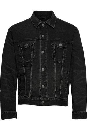 American Eagle Ae Black Denim Jacket Farkkutakki Denimtakki