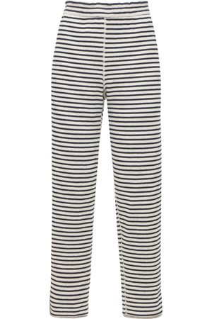 THEORY Naiset Collegehousut - Striped Cotton Jogger Pants