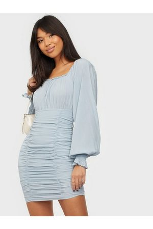 NLY Trend Naiset Juhlamekot - Square Neck Ruched Dress