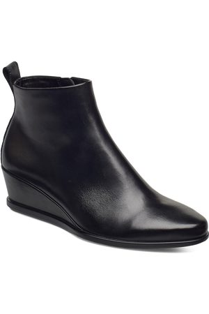 Ecco Shape 45 Wedge Shoes Boots Ankle Boots Ankle Boot - Heel