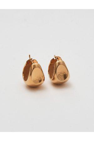 Blue Billie Compact Hoops Accessories Jewellery Earrings Hoops Kulta