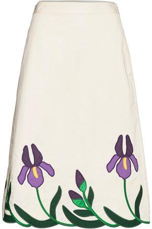 Tory Burch Iris Embroidered Skirt Polvipituinen Hame