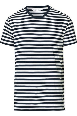 Samsøe Samsøe Patrick Crew Neck Tee Sapphire/White Stripe