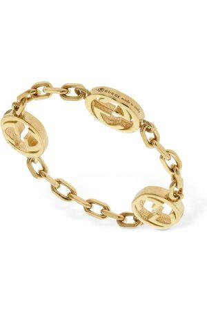 Gucci Naiset Sormukset - 18kt Interlocking G Chain Ring