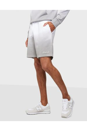 JACK & JONES Miehet Shortsit - Jjifade Sweat Shorts Gms Shortsit White