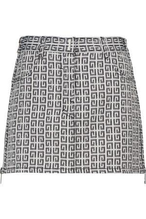 Givenchy Naiset Minihameet - Logo jacquard miniskirt