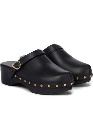Ancient Greek Sandals Naiset Puukengät - Classic Closed leather clogs