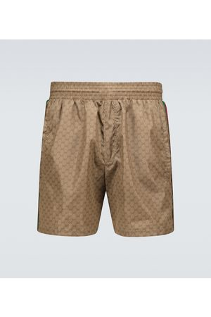 Gucci Miehet Uimashortsit - Nylon GG swim shorts