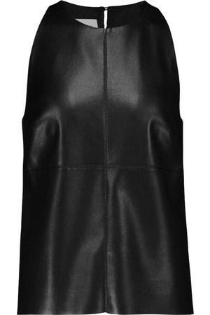Nanushka Teza faux leather tank top