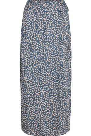 American Eagle Naiset Midihameet - Ae Button-Up Midi Skirt Polvipituinen Hame
