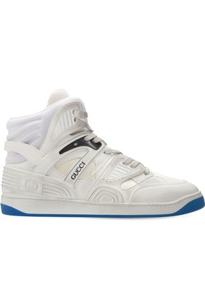 Gucci 25mm Basket High-top Sneakers