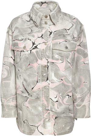 Stella McCartney Miehet Farkkutakit - Marble Wash Cotton Denim Jacket