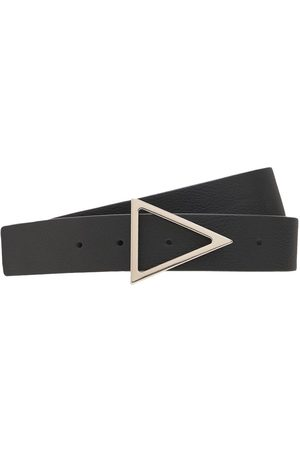 BOTTEGA VENETA Miehet Vyöt - 3cm Triangle Buckle Leather Belt