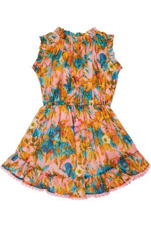 ZIMMERMANN Tytöt Printtimekot - Flower Print Cotton Dress