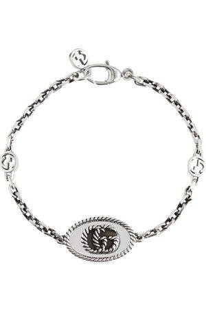 Gucci Naiset Rannekorut - Double G chainlink sterling silver bracelet