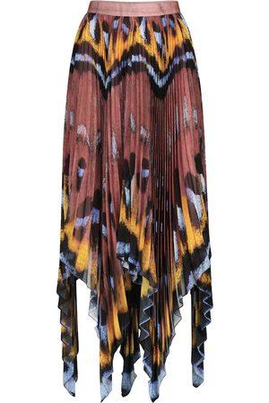 Altuzarra Isobel high-rise printed maxi skirt