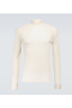 LEMAIRE Cotton long-sleeved turtleneck